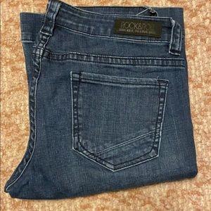Rock & Roll Denim Trouser Jeans